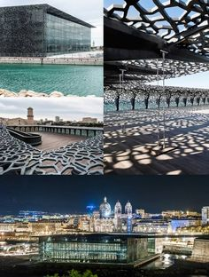 MuCEM by Rudy Ricciotti French concrete manufacturer Lafarge, show some images of the Museum of European and Mediterranean Civilizations (MuCEM) located in Marseille, France and designed by architect Rudy Ricciotti.