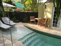 John's Picture: Private Plunge Pool - Check out Tripadvisor members' candid photos and videos of Sandals Grande Antigua Resort & Spa Small Backyard Patio, Backyard Patio Designs, Spool Pool, Pools For Small Yards, Kleiner Pool Design, Dipping Pool, Swimming Pools Backyard, Lap Pools, Indoor Pools
