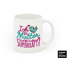 Tasse Mama Muttertag Superkraft TS106