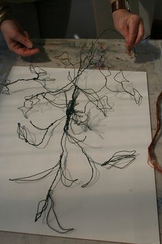 drawing with wire - Google Search