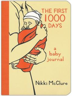 Nikki McClure's beautifully detailed illustrations divide this lovely baby journal into sections celebrating the first 1,000 days of life, from the story of birth to jumping into her first mud puddle.