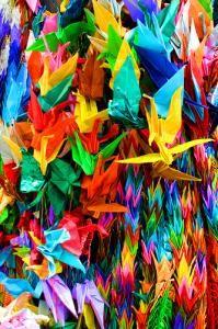 Lotsa cranes