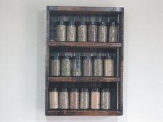 Spice Rack - Spice Sheving - DREAMATHEME - Wood Shelving - Kitchen Shelves - Spice Display - Kitchen Shelving  - Spices