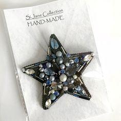 З В Е З Д А. Сделана на заказ. Возможен повтор в этом💎💎💎 и других цветах🖤💜💚💛❤️. #брошьручнойработы #handmade_prostor #handmadejewelry #handmade #brooches #звезда #брошьзвездочка #брошьзвезда