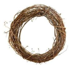 Make a wreath with grapevine