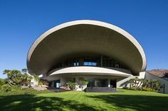 Bob Hope residence, designed by John Lautner, at 2466 Southridge Dr