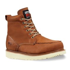 Timberland Pro 6in Wedge Leather Work Boots