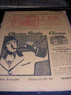 LA LLAR,DEL POBLE DE MONCADA,PORTAVEU DEL CENTRE POPULAR CATALANISTA,FEBRER 1934,ANY II