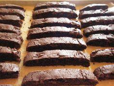 Chocolate Chocolate Chip Biscotti, Gluten-Free