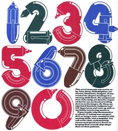 Numerals by John Story