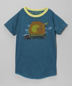 Love this Blue 'Allman Brothers' Tee - Infant, Toddler & Kids by Rowdy Sprout on #zulily! #zulilyfinds