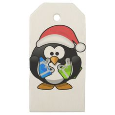 Chrismas Gift Wooden Gift Tags
