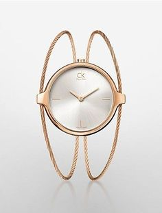 347708bc0 Shop for Calvin Klein Women s  Agile  Rose Gold PVD Coated Stainless Steel  Swiss Quartz Watch. Get free delivery at Overstock - Your Online Watches  Store!