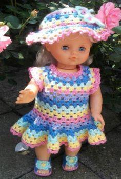54 Beste Afbeeldingen Van Gehaakte Poppenkleertjes Crochet