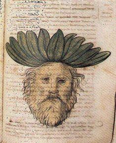 Botanical Drawings, Botanical Art, Botanical Illustration, Medieval Manuscript, Medieval Art, Old King, Bio Art, Old Maps, Sea Monsters