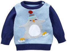 Ladybird Baby Boys Penguin Knitted Jumper on shopstyle.co.uk