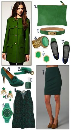 Emerald green for Fall