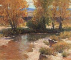 "Lorenzo Chavez    ""Autumn Harmony"" Pastel 24x30."