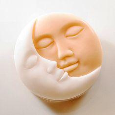 Art Soap Gift Kiss The Moon by SoapRhapsody on Etsy,
