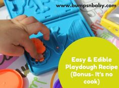 9 Benefits of introducing your child to playdough.