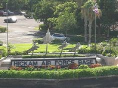 Hickham AFB, Hawaii ... maybe we can get stationed there <3