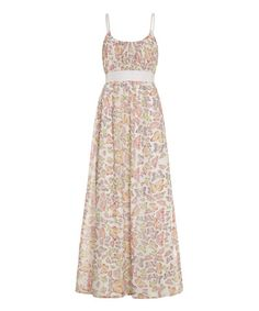 Loving this White Butterfly Maxi Dress on #zulily! #zulilyfinds $45