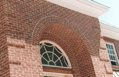 Handmade brick arch details. Brick In The Wall, Brick Walls, Brick Images, Brick Archway, Brick Detail, Brickwork, Architecture Details, Arches, Bricks