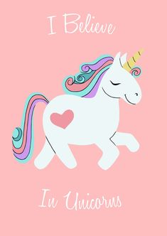 A6 Notebook I Believe in Unicorns by MelissaNettleship on Etsy