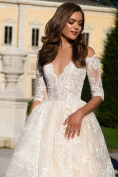 Milla Nova Bridal Wedding Dresses 2017 angelina / http://www.himisspuff.com/milla-nova-bridal-2017-wedding-dresses/12/