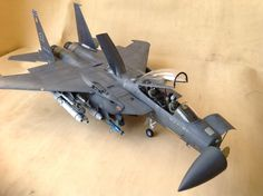1/32 Tamiya F-15 Eagle, bunker buster, by ademodelart