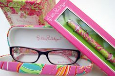 "when vacation is over, school shopping is completed, these sweet ""lilly"" glasses will belong to me.  :)"
