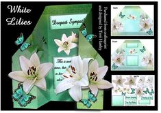 - A very pretty that can be used for many reasons, there are a number of labels for Deepest Sympathy, Very Best Wishes, and Th. Sympathy Cards, Greeting Cards, Best Wishes Card, Purple Lily, Birthday Drinks, Deepest Sympathy, White Lilies, Just Friends, Butterflies