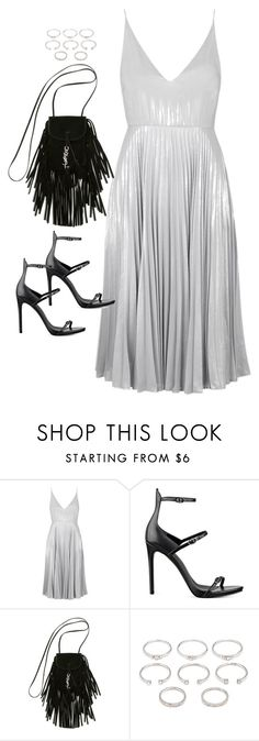 """Untitled#4354"" by fashionnfacts ❤ liked on Polyvore featuring Topshop, Kendall + Kylie, Yves Saint Laurent and Forever 21"