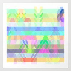 Re-Created Laurels I #Art #Print by #Robert #S. #Lee - $18.00