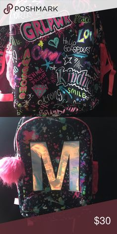Girls backpack Girls justice backpack in excellent condition, smoke free home Bags Backpacks Justice Backpacks, Girl Backpacks, Backpack Bags, Congratulations, Smoke Free, Shoulder Bag, Girls, Closet, Things To Sell