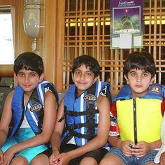 Saeed bin Hamdan bin Rashid Al Maktoum, Rashid bin Hamdan bin Rashid Al Maktoum y Saeed bin Mohammed bin Rashid Al Maktoum