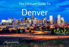 Denver has tons of restaurants, shopping districts, and historic neighborhoods that everyone needs to enjoy at least once. Come check out our favorites!