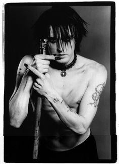 Skinny Puppy's Nivek Ogre Mohawks, Top Music Artists, Skinny Puppy, Black Planet, Music Icon, Post Punk, My Favorite Music, Electronic Music, New Wave