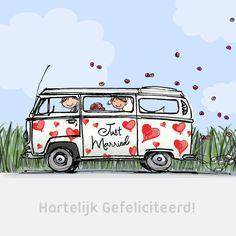 vw bus hearts anet illustrations - The world's most private search engine Birthday Greetings, Birthday Wishes, Happy Birthday, Kombi Hippie, Bus Drawing, Bus Art, Anime Muslim, Crochet Quilt, Christmas Wishes