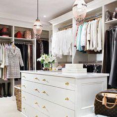 Bethenny Frankel's new closet. Nicely done.