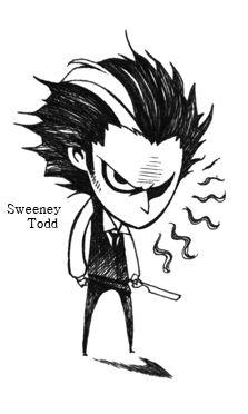Sweeney Todd by Hallpen