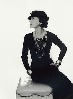 Coco Chanel 1935, photo by Man Ray