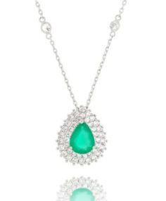 semi joias esmeralda com corrente tiffany Semi Joias Online, Semi Joias  Finas, Últimas Tendências 7e900c8c58