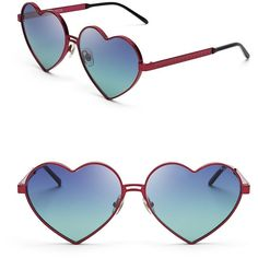 Wildfox Lolita Heart Sunglasses ($189) ❤ liked on Polyvore featuring accessories, eyewear, sunglasses, glasses, óculos, heart shaped glasses, white heart sunglasses, wildfox sunglasses, wildfox glasses and wildfox eyewear