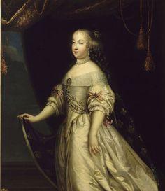 * Retrato de Marie-Thérèse de France * (Autor: desconhecido).