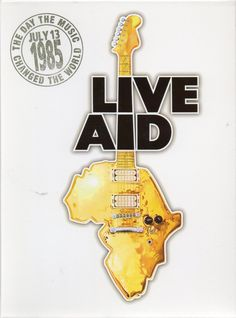 """Live Aid was a dual-venue concert held on 13 July The event was organised by Bob Geldof and Midge Ure to raise funds for relief of the ongoing Ethiopian famine. Billed as the """"global jukebox. Any Music, I Love Music, Rock Roll, Midge Ure, Mundo Musical, Bob Geldof, Nostalgia, Live Aid, Music Images"""