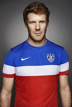 Alexi Lalas - My heart raced as soon as I first watched him as a commentator in 2006 and that feeling remains the same every time I see him eight years later...