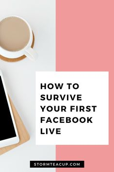 For many business owners the thought of going Live on Facebook or Instagram can be incredibly daunting. We've put together a list of 6 easy things you can do to prepare and make your next (or first) Facebook or Instagram Live as stress-free as possible while still delivering incredible value for your audience. Facebook Marketing, Social Media Marketing, Stress Free, How To Make Money, Survival, Make It Yourself, Learning, Live, Teacup
