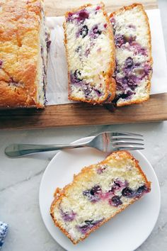 A classic family favourite recipe! This delicious Blueberry Lemon Loaf Cake is sweet, tart, wonderfully moist and fluffy, and so easy to make!
