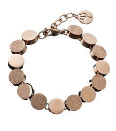 Edblad bracelet in rose gold. Dottie. | Pantone colour of the year 2016 - Rose Quartz